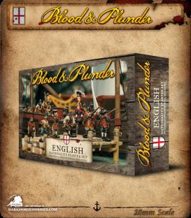 Blood & Plunder: England - Nationality Starter Set