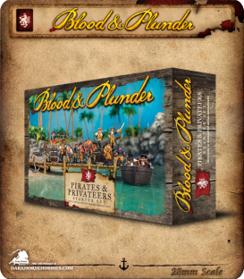 Blood & Plunder: European - Pirates and Privateers Set