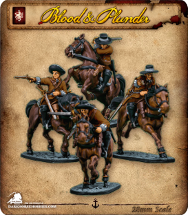 Blood & Plunder: European - Militia Cavalry Unit