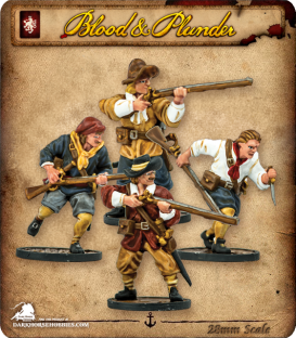 Blood & Plunder: European - Sailor Musketeers Unit