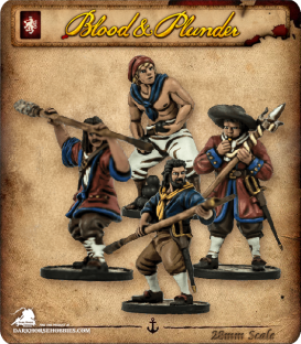 Blood & Plunder: European - Cannon Crew