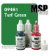 Master Series Paint: Bones Colors - 09481 Turf Green (1/2 oz)