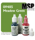 Master Series Paint: Bones Colors - 09485 Meadow Green (1/2 oz)