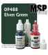Master Series Paint: Bones Colors - 09488 Elven Green (1/2 oz)