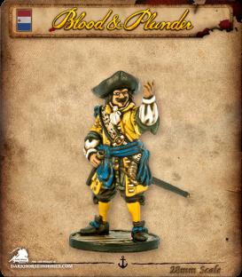 Blood & Plunder: Dutch - Commander