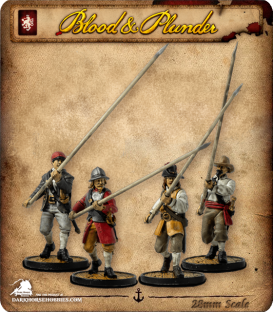 Blood & Plunder: European - Pikemen Unit