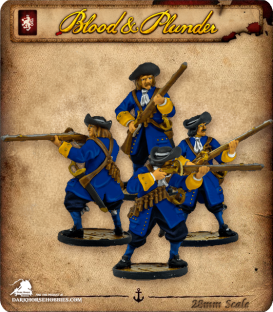 Blood & Plunder: European - Soldiers Unit