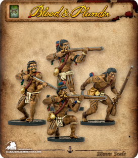 Blood & Plunder: Native - Warrior Musketeers Unit
