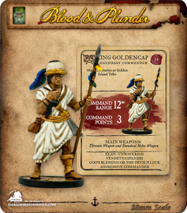 Blood & Plunder: Native - King Golden Cap