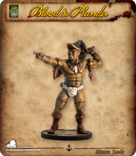 Blood & Plunder: Native - Commander