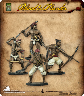 Blood & Plunder: Native - African Warriors Unit
