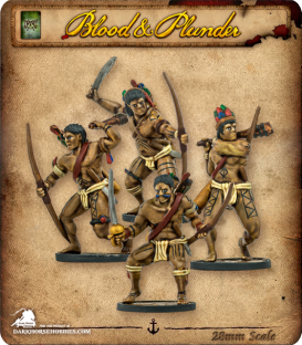 Blood & Plunder: Native - Warrior Archers Unit