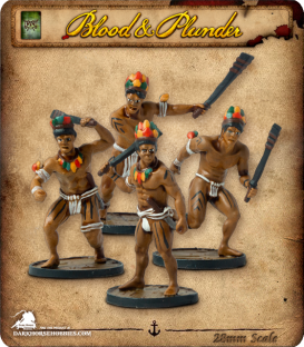 Blood & Plunder: Native - Warriors Unit