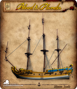 Blood & Plunder: 6th Rate Frigate
