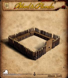 Blood & Plunder: Pallisade Fort