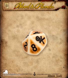 Blood & Plunder: Plunder D10 Dice Set