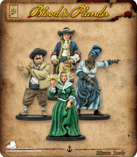 Blood & Plunder: Civilian Special Characters
