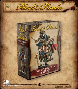 Blood & Plunder: Unit & Character Card Set