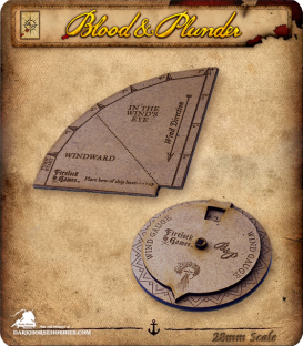 Blood & Plunder: Sea Template Set