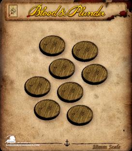 Blood & Plunder: Miniatures Bases Set