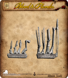 Blood & Plunder: Weapons Sprue