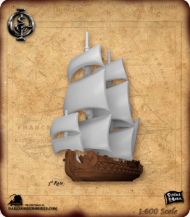 Oak & Iron: 3rd Rate Ship Expansion