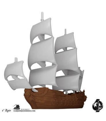 Oak & Iron: Ships of the Line Expansion (1st Rate)