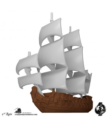 Oak & Iron: Ships of the Line Expansion (2nd Rate)