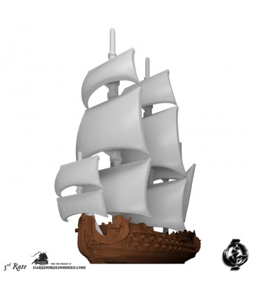 Oak & Iron: Ships of the Line Expansion (3rd Rate)