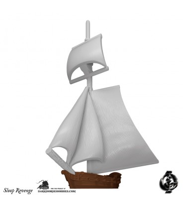 "Oak & Iron: Black Beard's Revenge Expansion (Sloop ""Revenge"")"
