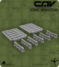 CAV Battlefield Terrain: [SO] K-Rails
