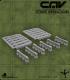 CAV Battlefield Terrain: [SO] K-Rails