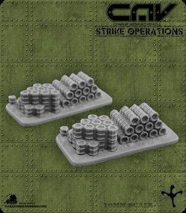 CAV Battlefield Terrain: [SO] Fuel Depot