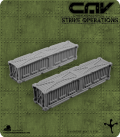 CAV Battlefield Terrain: [SO] Long Shipping Container