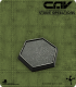 CAV Miniatures: [SO] Black Hex Gaming Bases