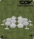 CAV Miniatures: [SO] Clear 30mm Hex Hover Stands w/18mm Pegs