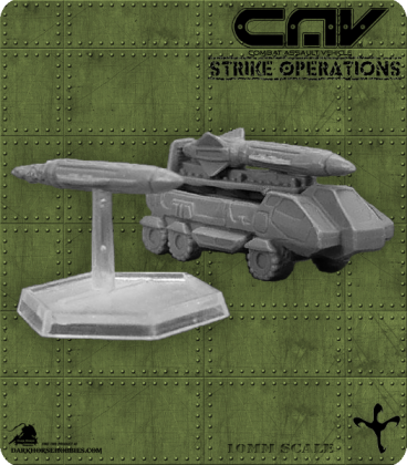 72255 Ripper Missile System (Vehicle) (C.A.V. Strike Operations) Gaming Miniature