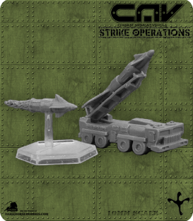 72256 Whisper Missile System (Vehicle) (C.A.V. Strike Operations) Gaming Miniature