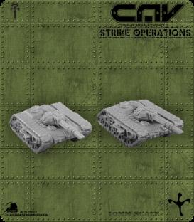 72300 Hunter AFV (Tank) (C.A.V. Strike Operations) Gaming Miniatures