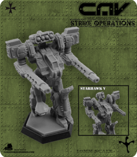 722301 Warhawk / Starhawk V CAV (C.A.V. Strike Operations) Gaming Miniature