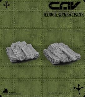 72304 Lance AFV (Tank) (C.A.V. Strike Operations) Gaming Miniatures