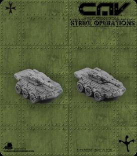 72305 Sabre AFV (Tank) (C.A.V. Strike Operations) Gaming Miniatures
