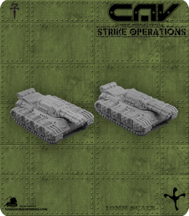 72306 Poltergeist AFV (Tank) (C.A.V. Strike Operations) Gaming Miniatures
