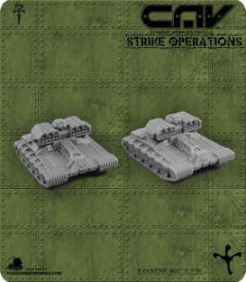 72307 Outlaw AFV (Tank) (C.A.V. Strike Operations) Gaming Miniatures