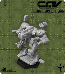 72227 Tyrant CAV (C.A.V. Strike Operations) Gaming Miniature