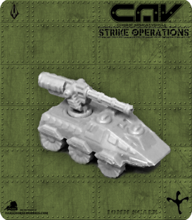 72233 Warden AFV (C.A.V. Strike Operations) Gaming Miniature