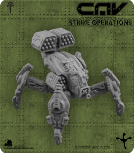 72291 Haunt Quad CAV (CAV Strike Operations) Gaming Miniature