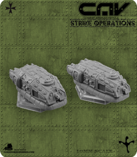 72294 Charger APC (CAV Strike Operations) Gaming Miniatures