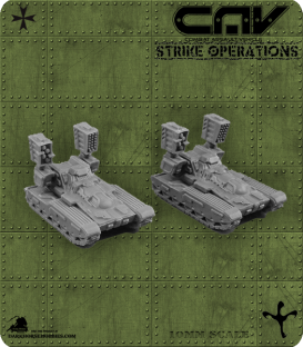 72298 Flail AFV (Tank) (CAV Strike Operations) Gaming Miniatures