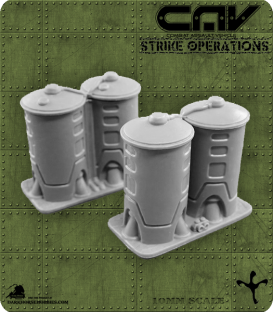 72613 CAV Battlefield Terrain: [SO] Medium Storage Tank